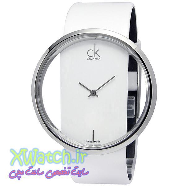 ساعت CK سفید